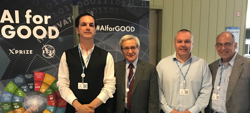 ITU - XPRIZE Inaugural AI for Good Summit takes place in Geneva